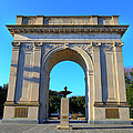 World War I Victory Arch Newport News by Greg Hager