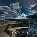 World War II Gun Battery by GD Images