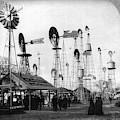 World's Fair Windmills by Granger