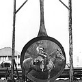 World's Largest Frying Pan by Underwood Archives