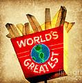 World's Greatest Fries by Beth Ferris Sale