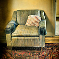 Worn Chair By Doorway by Jill Battaglia