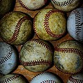 Worn Out Baseballs by Paul Ward