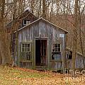 Worn Out Shed by Ray Konopaske
