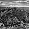Wotan's Throne North Rim Grand Canyon National Park - Arizona by Silvio Ligutti