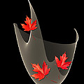 Woven Maple Leaves by Barbara Milton