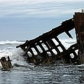 Wreck Of The Peter Iredale by Chalet Roome-Rigdon