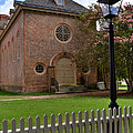Wren Chapel At William And Mary by Jerry Gammon