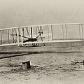 Wright Brothers - First In Flight by Bill Cannon