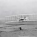 Wright Flyer At Kitty Hawk North Carolina by Mountain Dreams