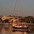 Wrightsville Beach Boat In Harbor by Mountains to the Sea Photo