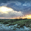 Wrightsville Beach South End Sunset by Phil Mancuso
