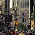 Wrigley Building Clock Tower by Bob Phillips