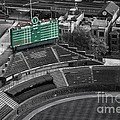Wrigley Field Chicago Sports 04 Selective Coloring by Thomas Woolworth