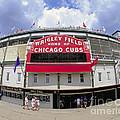 Wrigley Field Marquee by Martin Konopacki