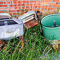Wringer Washer And Laundry Tub by Sue Smith