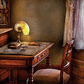 Writer - Desk Of An Inventor by Mike Savad