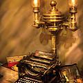 Writer - Remington Typewriter by Mike Savad