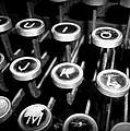 Writing The Great Novel - Black And White by Joseph Skompski