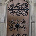 Wrought-iron Door by Stephanie Grant