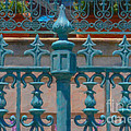 Wrought Iron Fence by Dale Powell