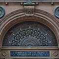 Wrought Iron Grille - The Omaha Building by Nikolyn McDonald