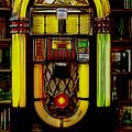Wurlitzer 1946 Jukebox - Featured In Comfortable Art Group by Ericamaxine Price