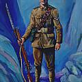 Ww 1 Soldier by Derrick Higgins