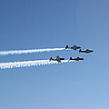 Ww II  Aircraft  Flyby by Carl Deaville