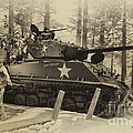 Ww II Battle Of The Bulge 02 by Thomas Woolworth