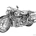 Ww2 Military Motorcycle by Greg Joens