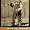 Wwi Farming C1915 by Granger