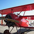 Wwi German Fighter by Michael Genova
