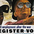 Wwii: Employment Poster by Granger