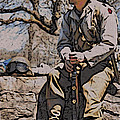 Wwii Soldier Two by Alice Gipson