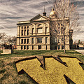 Wyoming Capitol Building by Erika Weber