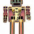 X-ray Robot - 3n2o No.10 by Roy Livingston