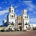 Xavier Tucson Arizona by Douglas Barnett