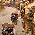 Xitang Canal by Dennis Cox