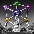 Xmas Atomium  by Rob Hawkins