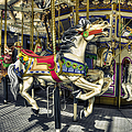 Xmas Carousel by Wayne Sherriff