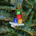 Xmas Noel Ornament Photo Art 01 by Thomas Woolworth