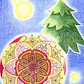 X'mas Ornament by Keiko Katsuta