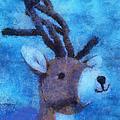 Xmas Reindeer 01 Photo Art by Thomas Woolworth