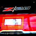 Xxl Chevrolet 2014 Z28 Tail Light by Katy Hawk