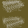 Xylophone Patent 1949 by Mountain Dreams
