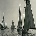 Yachting At Cowes�all They Wan - Is A Breeze by Retro Images Archive