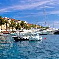 Yachting Harbor Of Hvar Island by Brch Photography