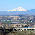 Yakima Valley Outlook With Mount Adams by Carol Groenen