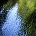 Yamhill River Abstract 24849 by Jerry Sodorff